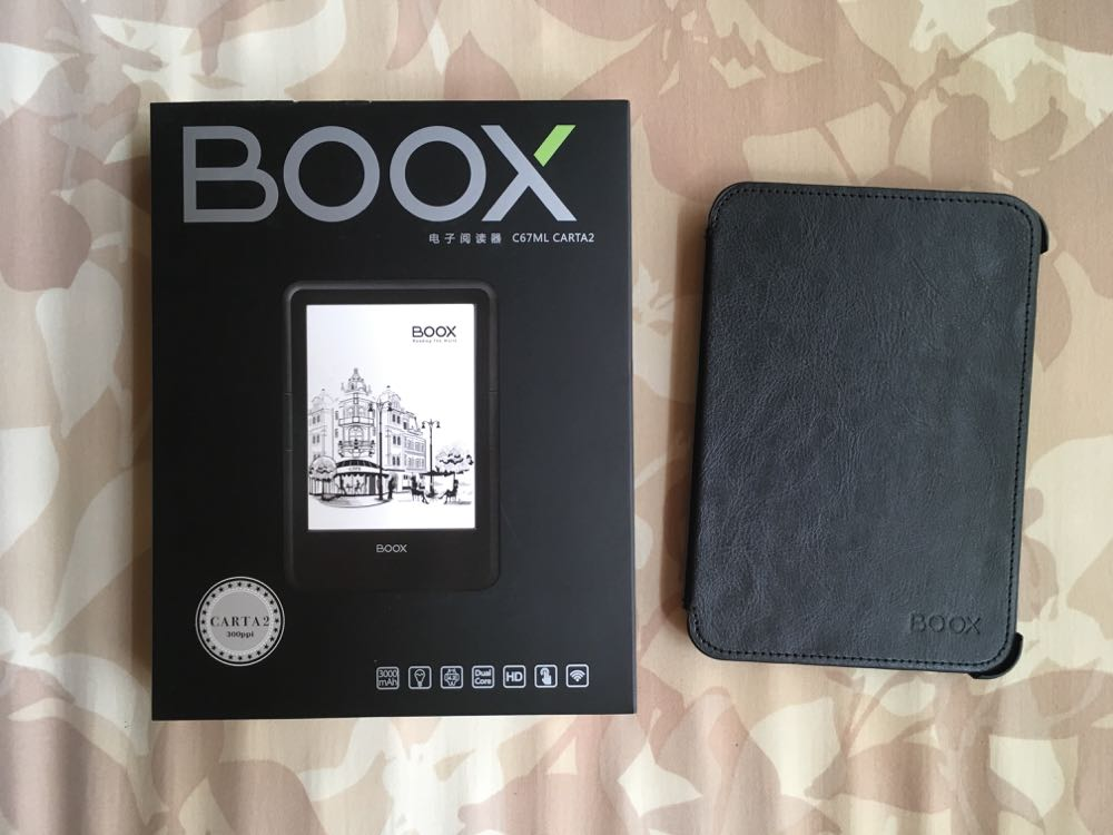 Kindle Paperwhiteより軽い電子ペーパー端末 BOOX C67MLcarta2